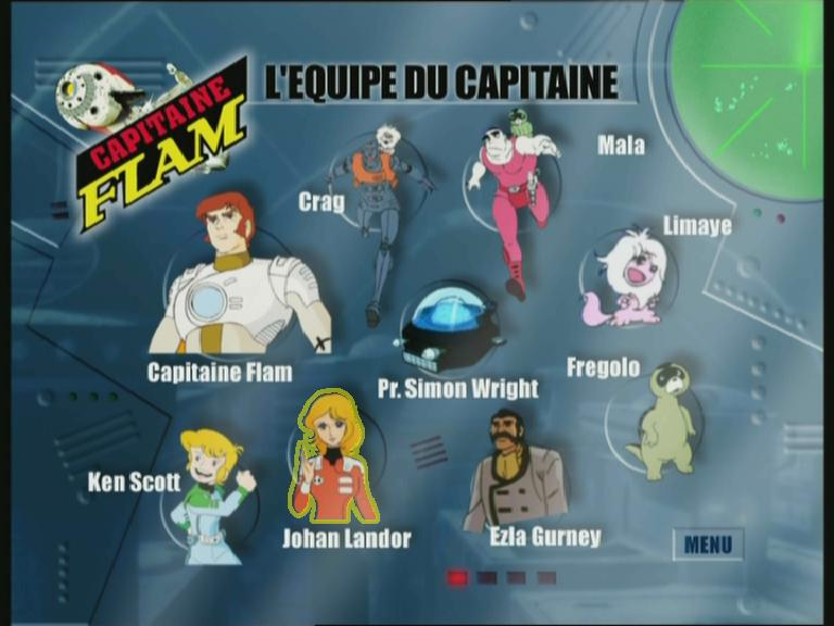 personnage capitaine flam